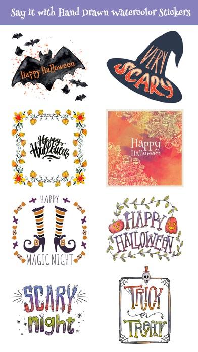 Beautiful Watercolor Halloween screenshot 4