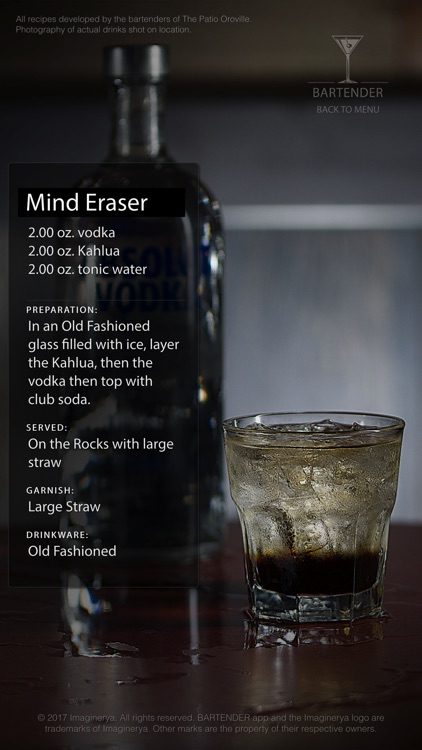 my Bartender app screenshot-4