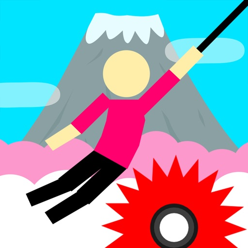 Hanger World - Rope Swing Game iOS App