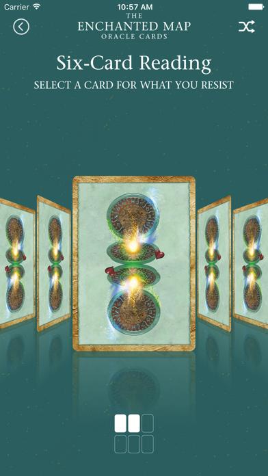 Enchanted Map Oracle Cards screenshot 3