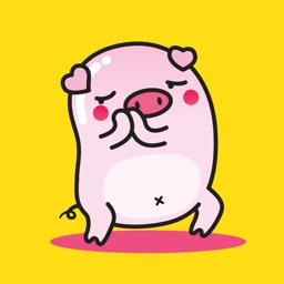 Piggy Sticker