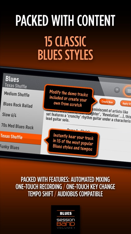 SessionBand Blues 1 screenshot-3