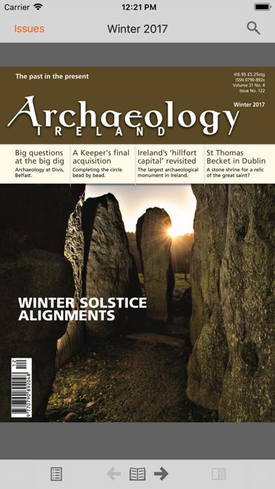 Archaeology Ireland screenshot 5