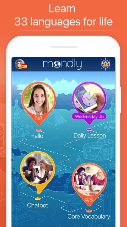 Mondly: Learn 33 Languages