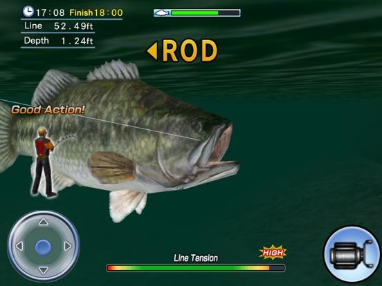 Игра Bass Fishing 3D HD Premium