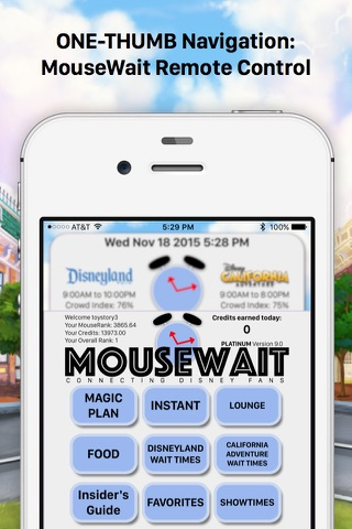 MouseWait Disneyland PLATINUM screenshot 4
