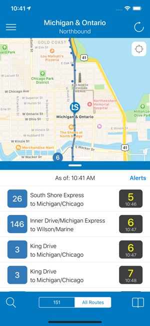 Transit Chicago Map.Transit Stop Cta Tracker On The App Store