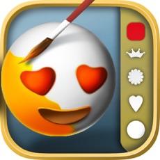 Activities of Emoticon 3D Coloring book – color emojis