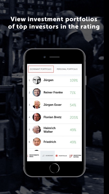 Dominant investors screenshot-4