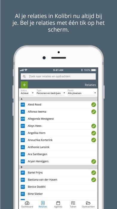 Screenshot #2 for Kolibri App voor makelaars