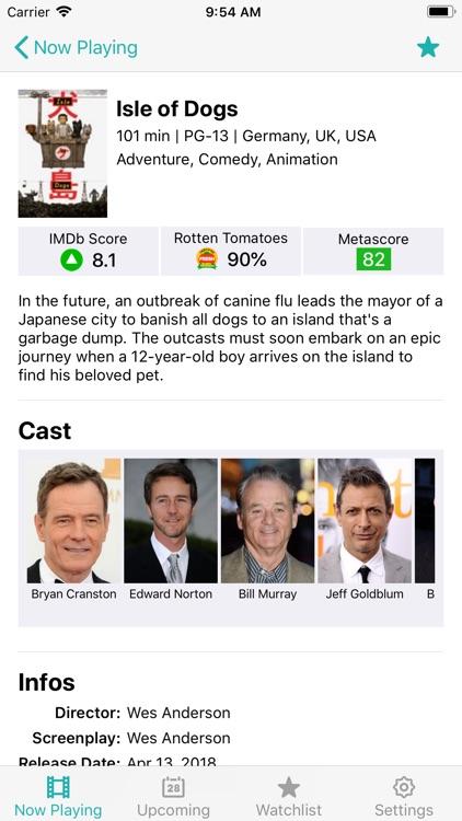 MovieStarts screenshot-3