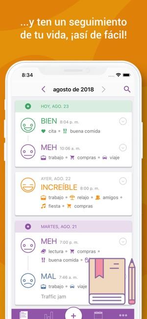 Daylio: Diario Estado de ánimo en App Store