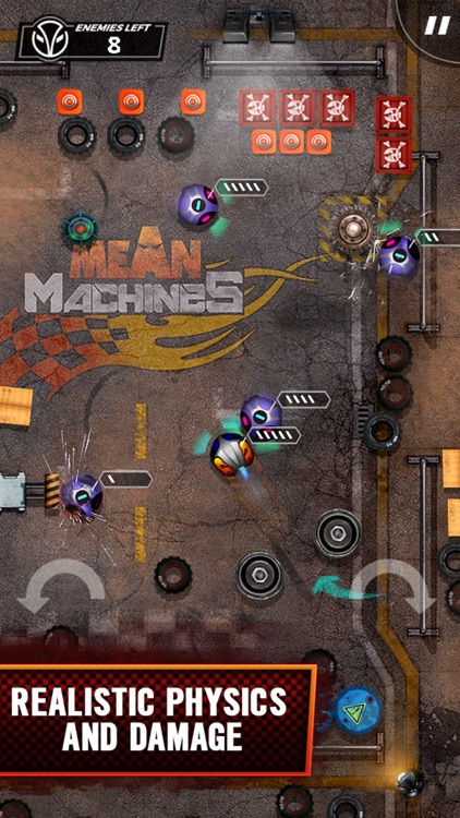 Mean Machines Demolition Derby screenshot-1