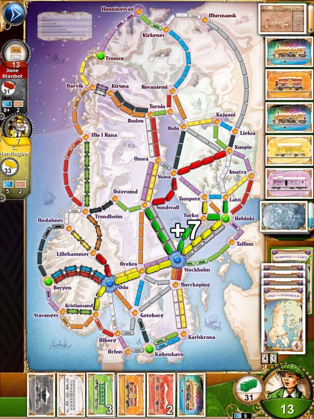 Ticket To Ride India Map.Ticket To Ride On The App Store