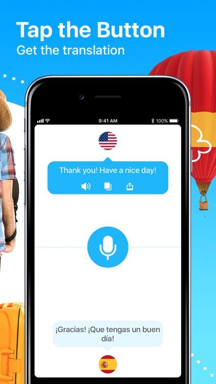 Dialog - Translate Speech screenshot-4