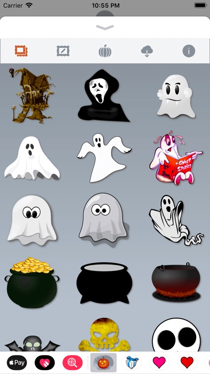 Happy Halloween • 140 stickers screenshot-7