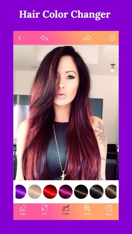 Hair Color Changer New screenshot-3
