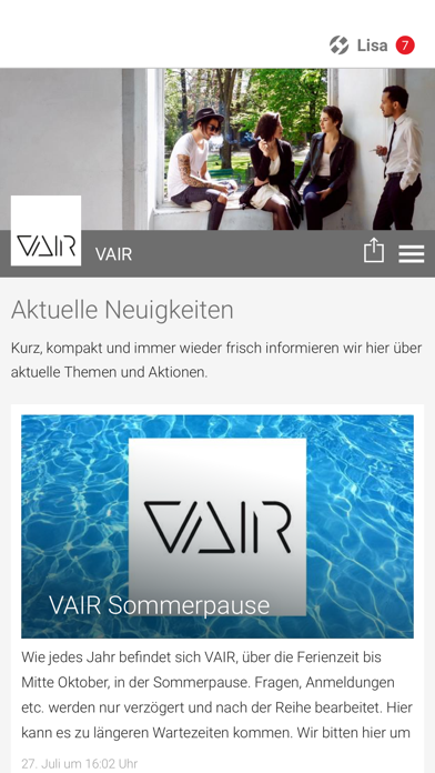 VAIR screenshot 1