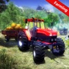Forage Tractor Transporter Sim