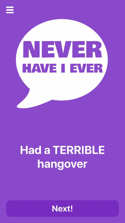 Never Have I Ever  ·