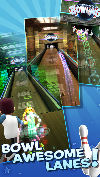 Screenshot 1 StrikeMaster Bowling