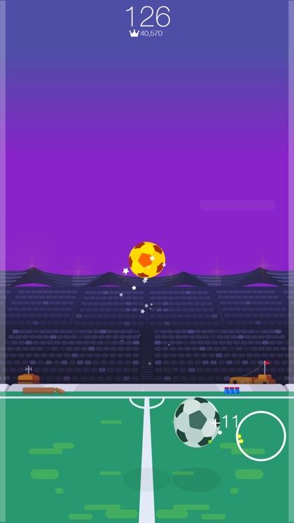 Kickup FRVR - Soccer Juggling screenshot-3