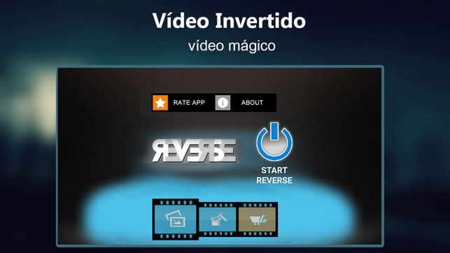 Reverse Movie FX -vídeo mágico Screenshot
