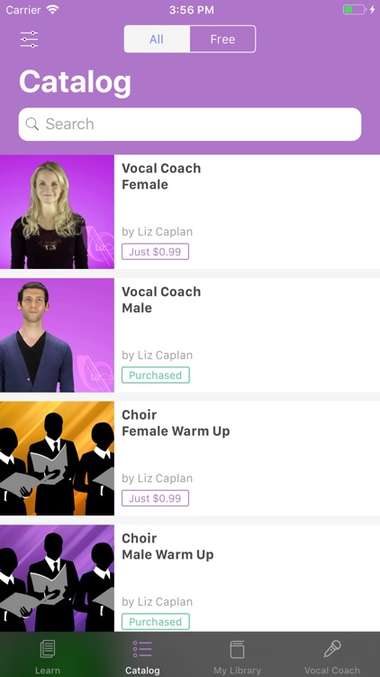 Liz Caplan Vocal Coach