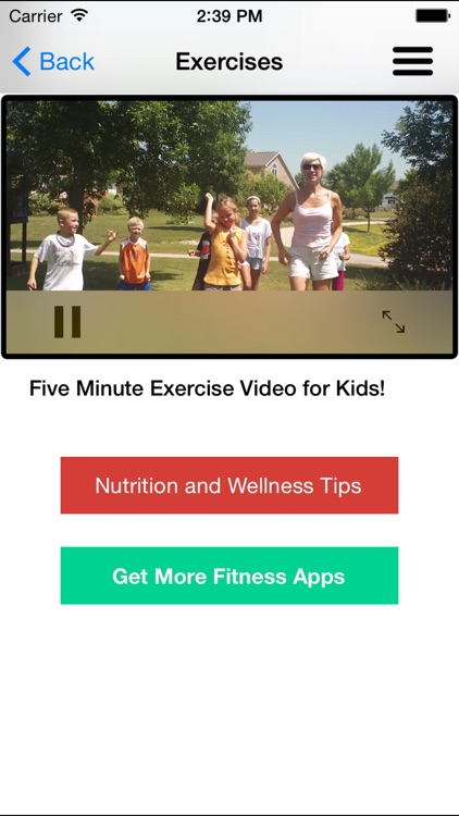 Workouts & Exercises for Kids