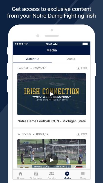 Notre Dame Fighting Irish screenshot-4