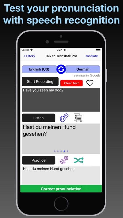 T2T: Speech Translation screenshot-4