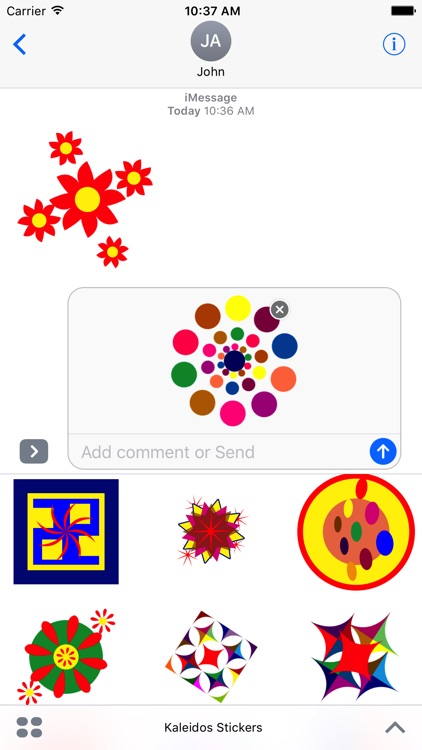 Kaleidos Stickers