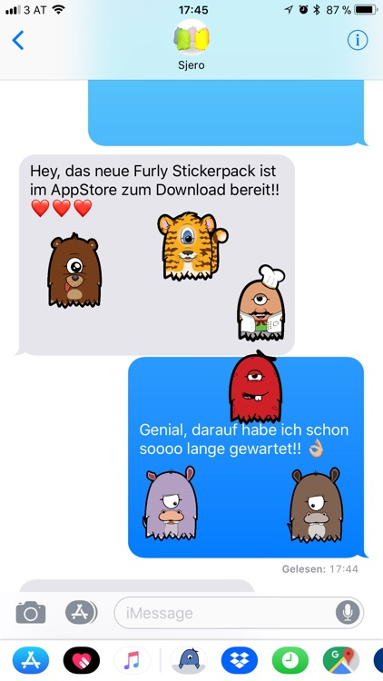 Furly Stickerpack