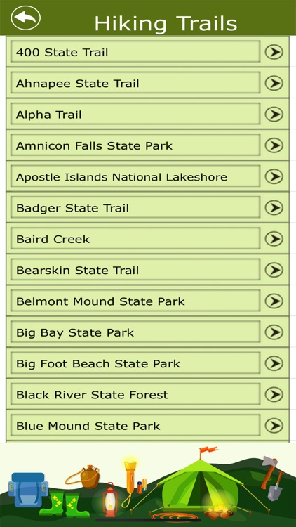 Wisconsin Campgrounds & Trails screenshot-3