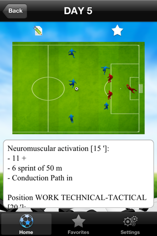 Pre-Season Soccer training screenshot 3