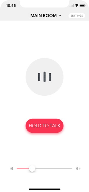 Voice Intercom for Sonos Screenshot