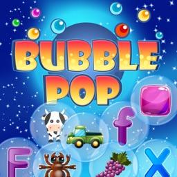Bubble Pop - Alphabets Numbers