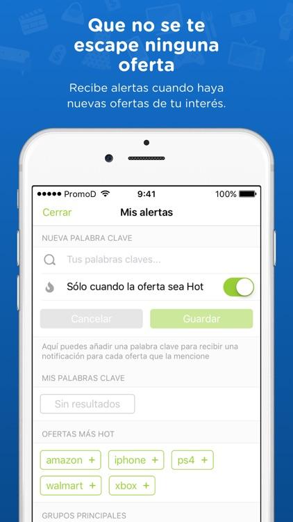 PromoDescuentos: ofertas screenshot-3