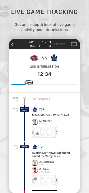 NHL on the App Store fce8b8755