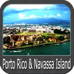Porto Rico & Navassa Island GPS charts Navigator