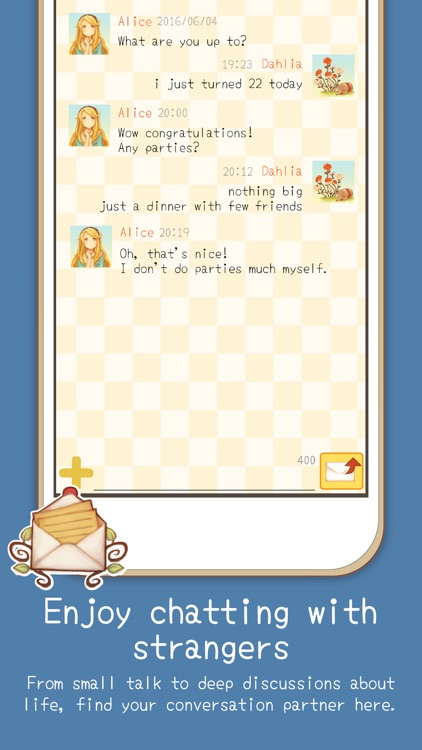 Alice Letters - Chat App screenshot-3