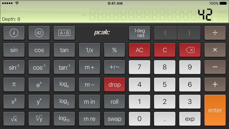 PCalc Lite screenshot-3