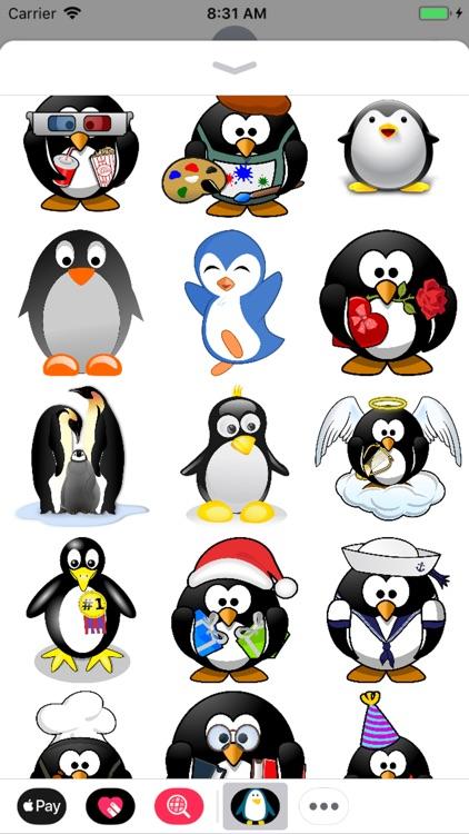 Penguin Stickers - Sid Y screenshot-3
