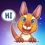 Super Mr.Kangaroo Stickers