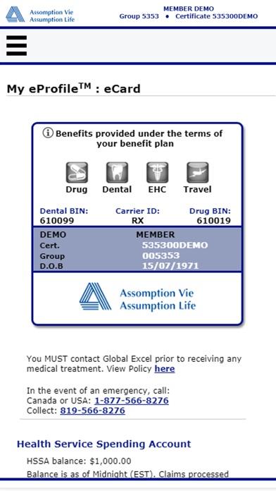 Assumption Life - ClaimSecure screenshot #2