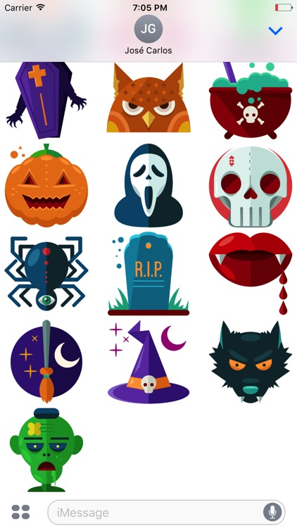 Funny Halloween Sticker Pack for iMessage