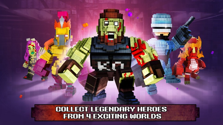 Super Pixel Heroes
