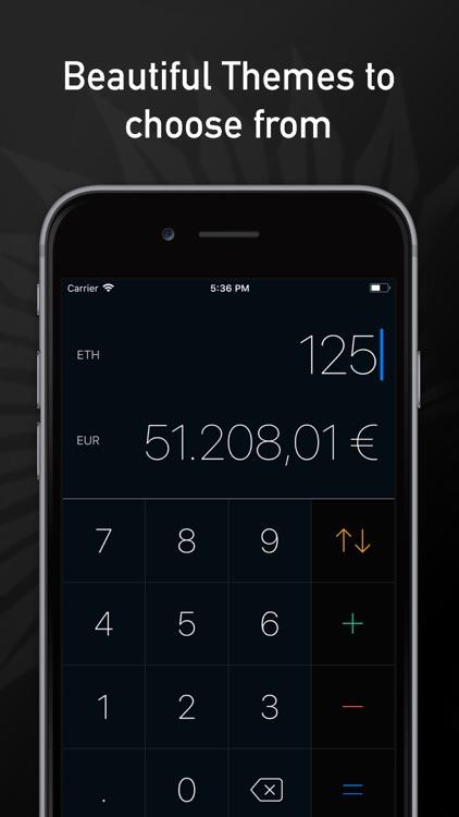 Cryptocurrency Converter Plus screenshot-3
