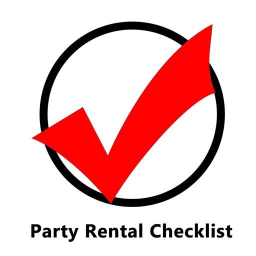 Party Rental Checklist