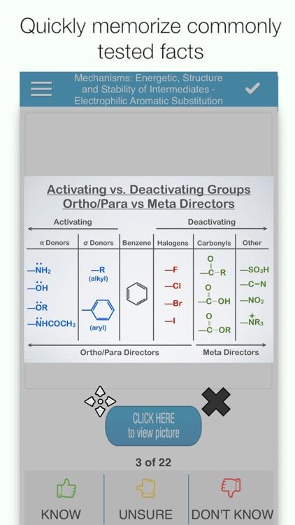 OAT Organic Chem Cram Cards screenshot-0